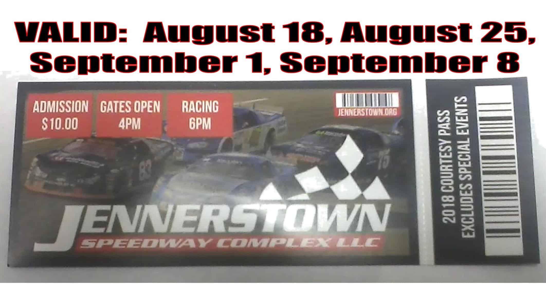 Jennerstown Speedway plex